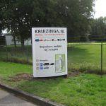 Bedrijfs zuil Kruizinga