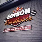 Gevelbeletteing Edison Roadhouse