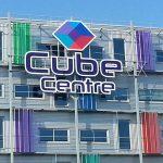 LED-reclame Cubecentre