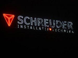 Neonreclame Schreuder