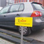Parkeerplaatsborden D-reizen