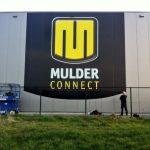 Gevelbelettering Mulder Connect
