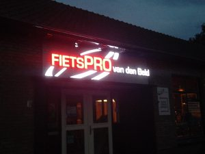 LED-reclame Fietspro