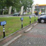 Flexibele parkeerplaatspaal Secuur