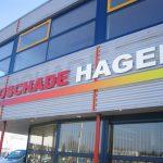 Gevelbelettering Autoschade Hagen