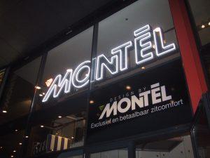 Neonreclame Montel