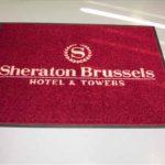 Logomatten Sheraton Brussels