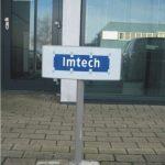 Parkeerplaatsborden Imtech