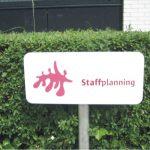 Parkeerplaatsborden staffplanning