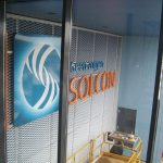 Gevelbelettering Solcon
