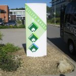 Reclamezuil-Facility-groep